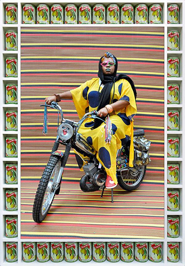 Hassan Hajjaj Muneera Bikin', 2016 The Third Lin