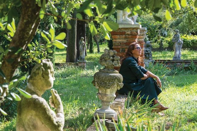 العطارة Chritine Nagel في حديقة Giardino de Eden في فينيسيا