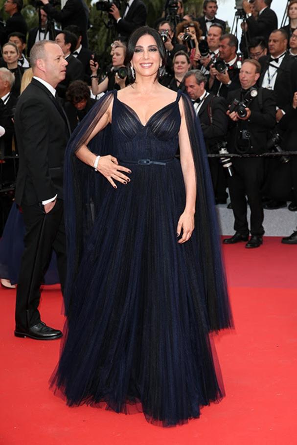 Nadine Labaki in Dior