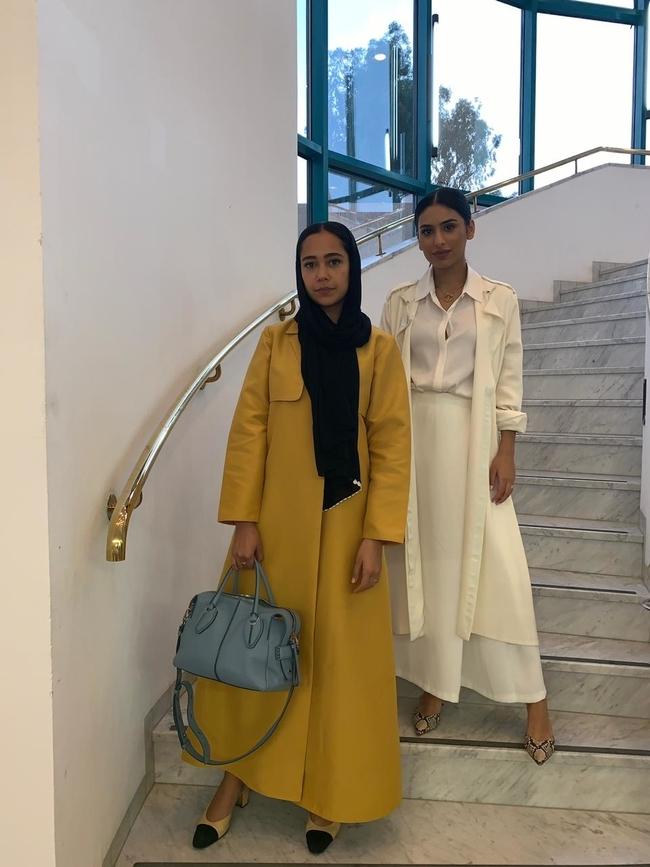 Alaa Balkhi and Haya Abdullah