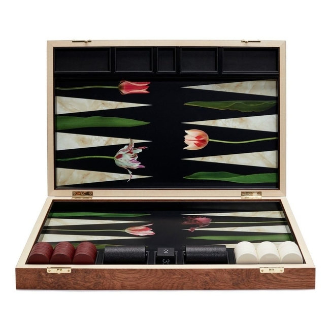 lexandra Llewellyn Tulip Backgammon Set