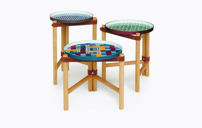 Les Trotteuses d'Hermès - Side Tables