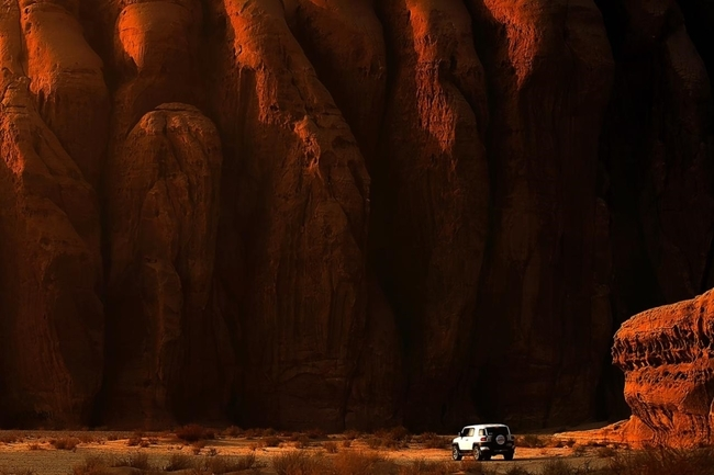 Winning photo for Adventure - Mr. Kamal Alanzi