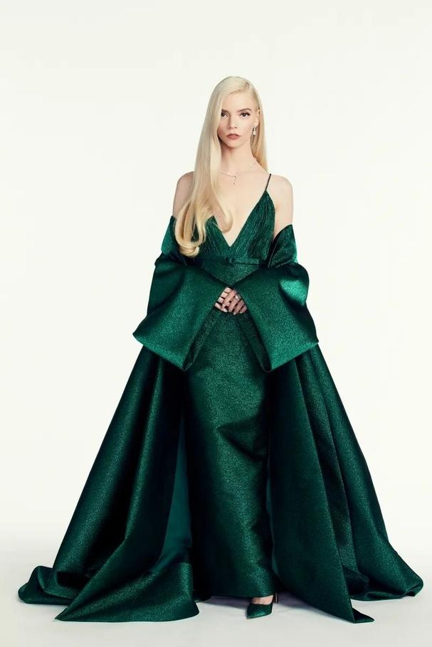 Anya Taylor-Joy in Christian Dior