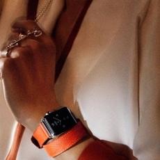 ألوان غنية وجديدة لساعة Apple من مجموعة Hermès