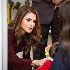 الملكة رانيا توجه رسالة كرمى لذوي الاحتياجات الخاصة