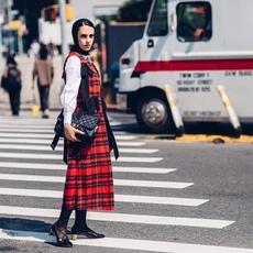 اكتشفي كيف التقى أسلوب الشوارع بالحجاب من أسبوع الموضة في New York