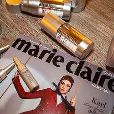 ماري كلير تكشف عن مستحضر التقدّم في السنّ بجمالٍ ورونق