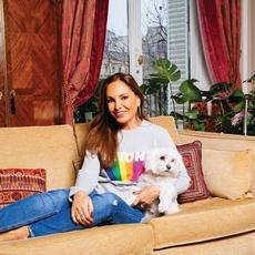 At Home  مع  Hala Salem Achillas