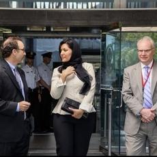 الأميرة ريما بنت بندر فخر للعالم العربي