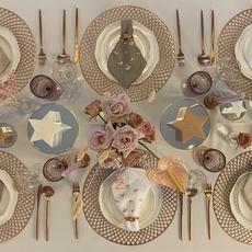 كيف تُرتّبين مائدة العيد بأسلوب متباين وأخّاذ؟