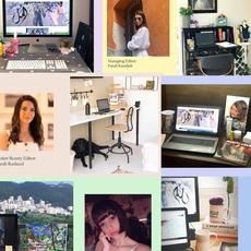 محرّرات ماري كلير العربيّة يشاركن صور أماكن عملهنّ من المنزل