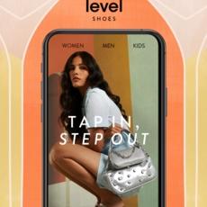 Level Shoes يطلق تطبيقاً للأجهزة المحمولة