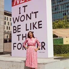 """Hala Khayat:""""الفنّ مرآة العصر ودائماً ما يعطي صورة عن الواقع"""""""