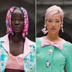 أجمل إطلالات الجمال لأسبوع الموضة في نيويورك 2022